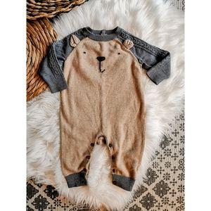 Baby Gap Bear Sweater One Piece 6-12 months